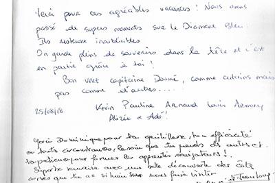 Avis clients location d'un voilier en Corse
