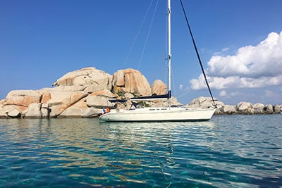 Voilier Luckystar - Location voilier Corse