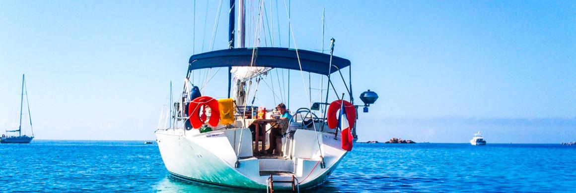 Voilier Luckystar en croisière Méditerranée en Corse