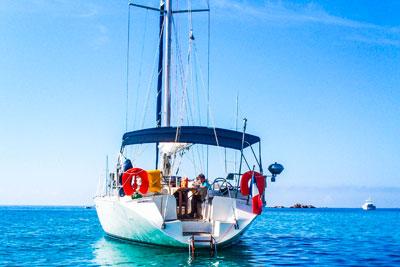 Croisière en Méditerranée avec skipper - Luckystar