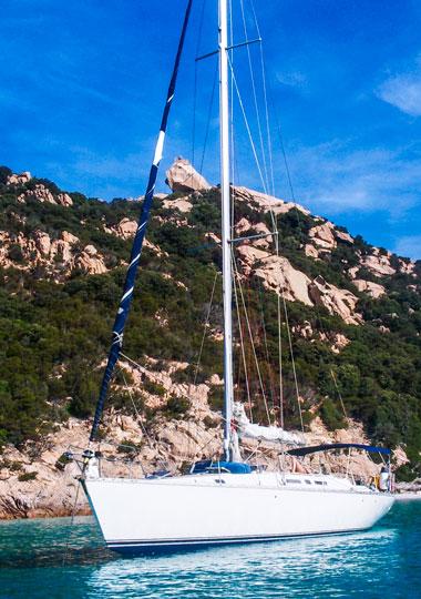 Embarquement pour la croisière en Méditerranée - Voilier Luckystar