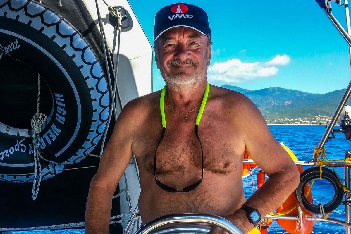 Croisiere voilier corse avec skipper - Luckystar