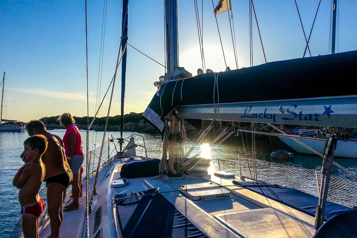 Location bateau Corse - Voilier Luckystar