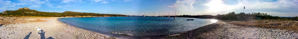 Voilier Luckystar - Vue panoramique Corse