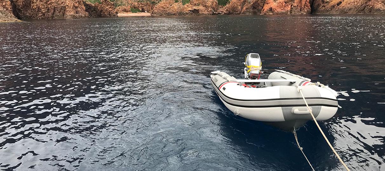 Annexe du voilier Diamant Bleu | Voilier en Corse