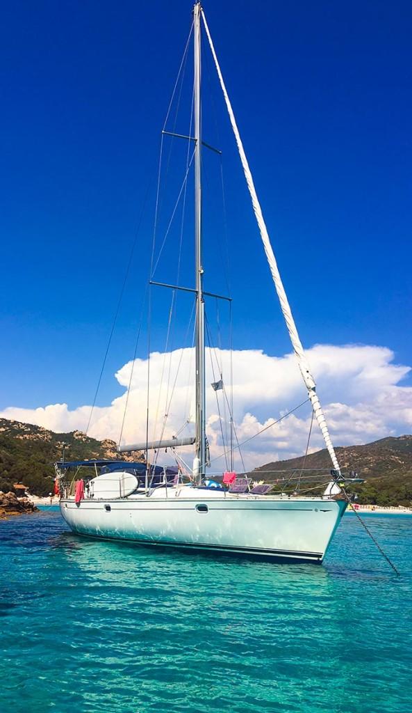 Voilier Diamant Bleu - Tour de Corse à la voile