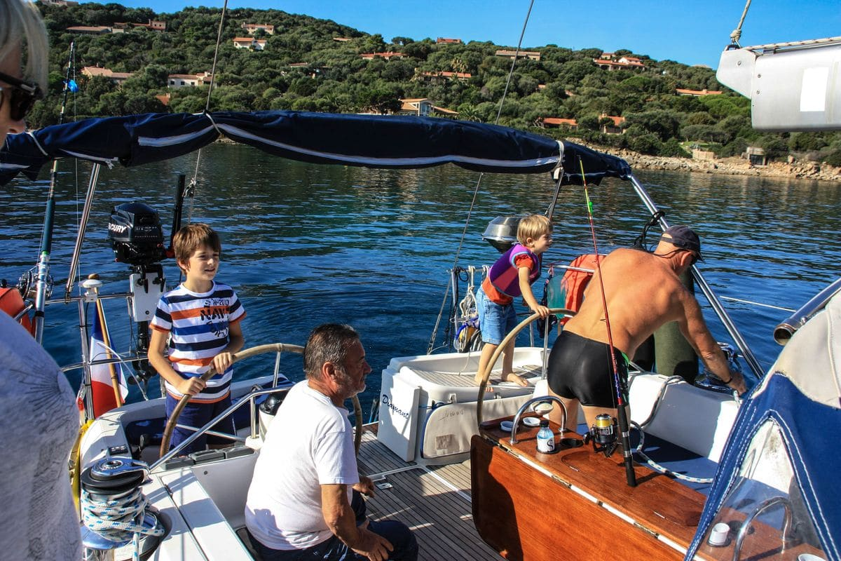 Octobre 2015 à bord du voilier Diamant Bleu