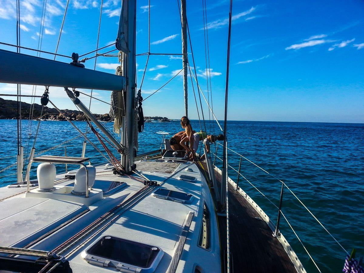 Voilier Diamant Bleu - Location voilier Corse