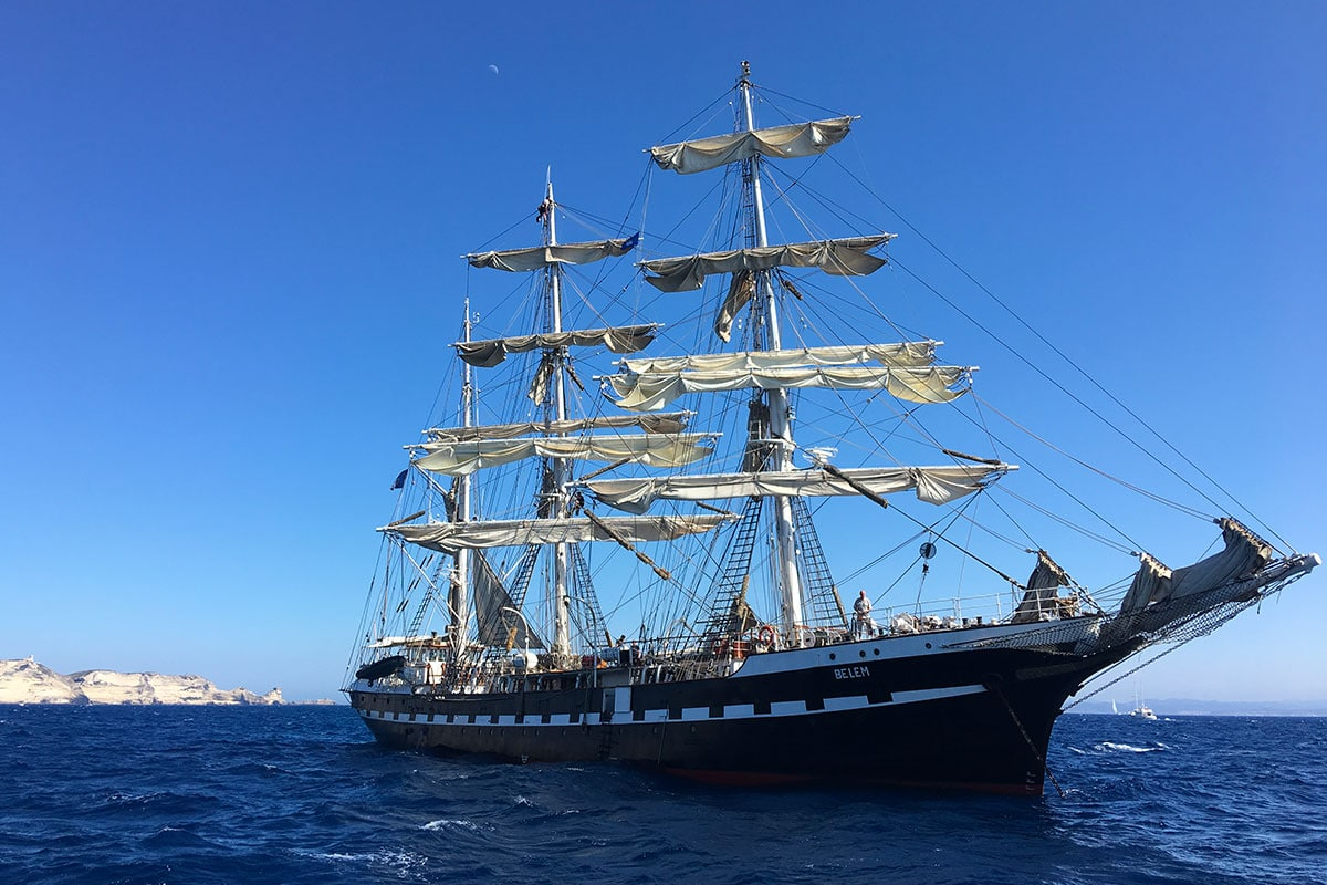 Eté 2018 à bord du voilier Diamant Bleu | Partie 1