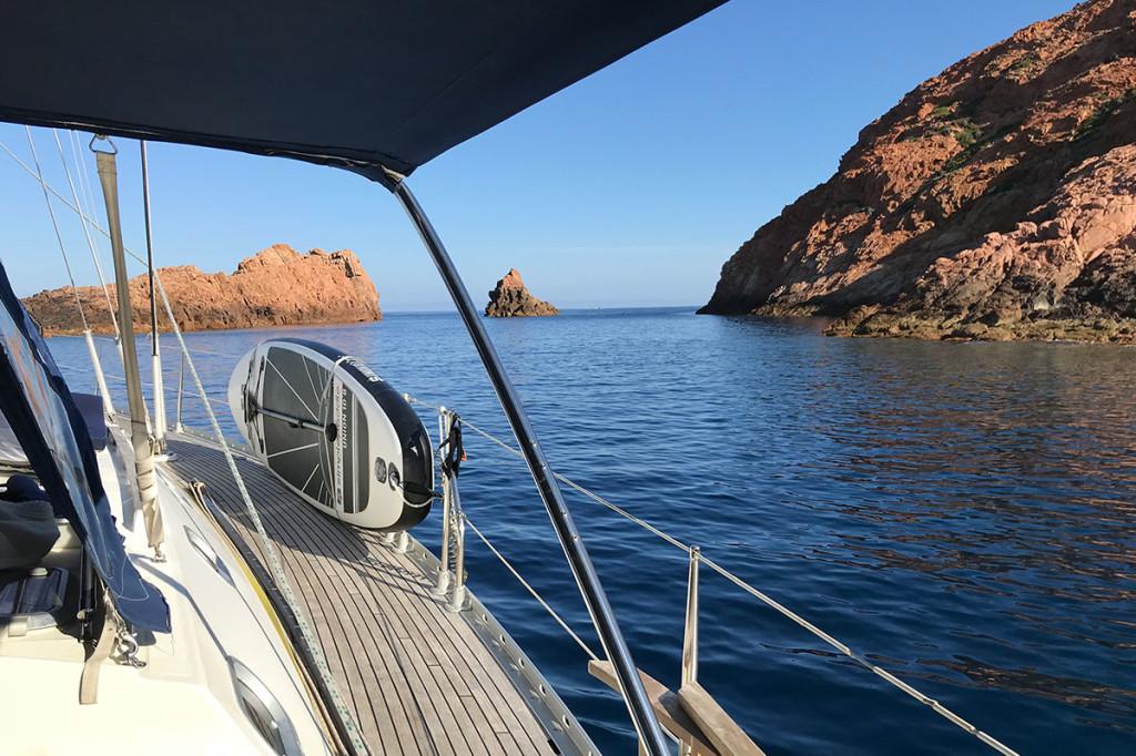 Location d'un voilier avec skipper en Corse   Diamant Bleu