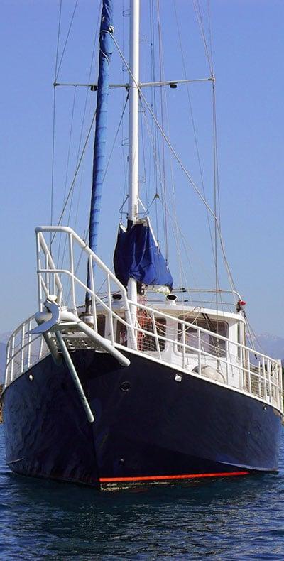 Voilier Stella Polaris pour croisière en Corse avec skipper