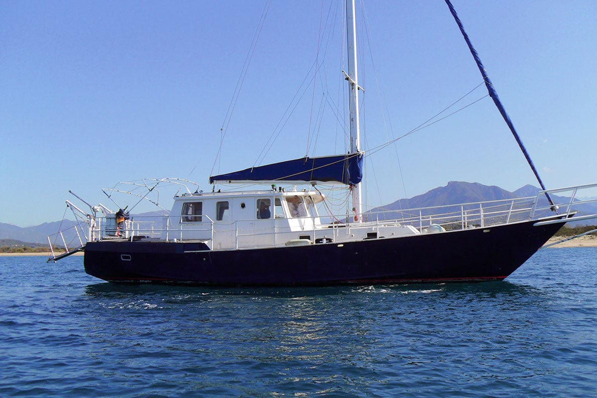 Voilier Stella Polaris | Location voilier Corse