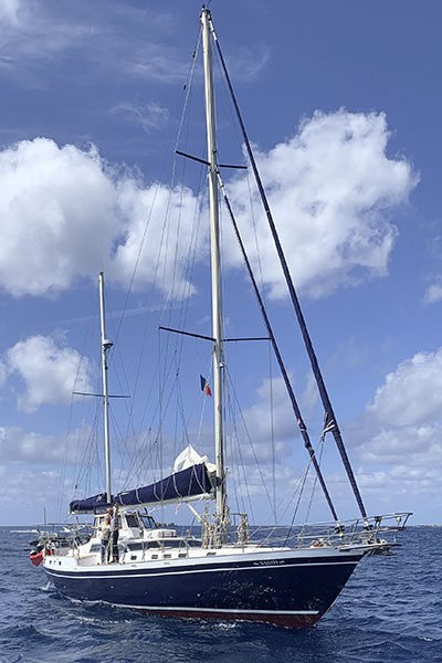 Voilier Najida pour croisière en Corse avec skipper