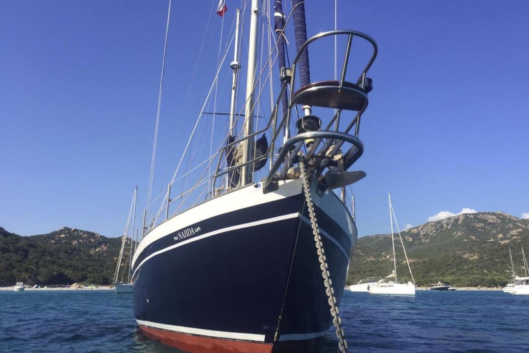 Location voilier Corse Najida avec Skipper