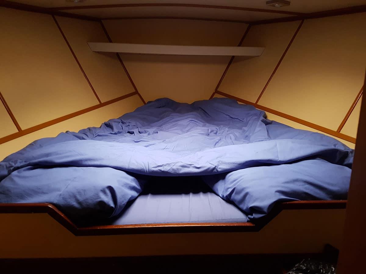 Cabine avec lit de 140 cm
